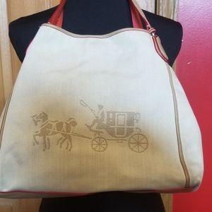 Signature Coach Canvas Bag